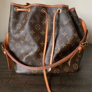 Authentic Louis Vuitton Petite Noe